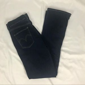 Levi's Classic Boot Dark Wash Jeans Size 28